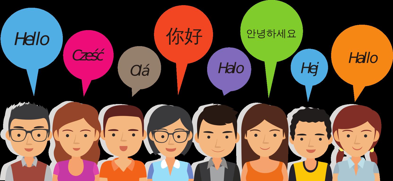 idioma viajando solo en grupo