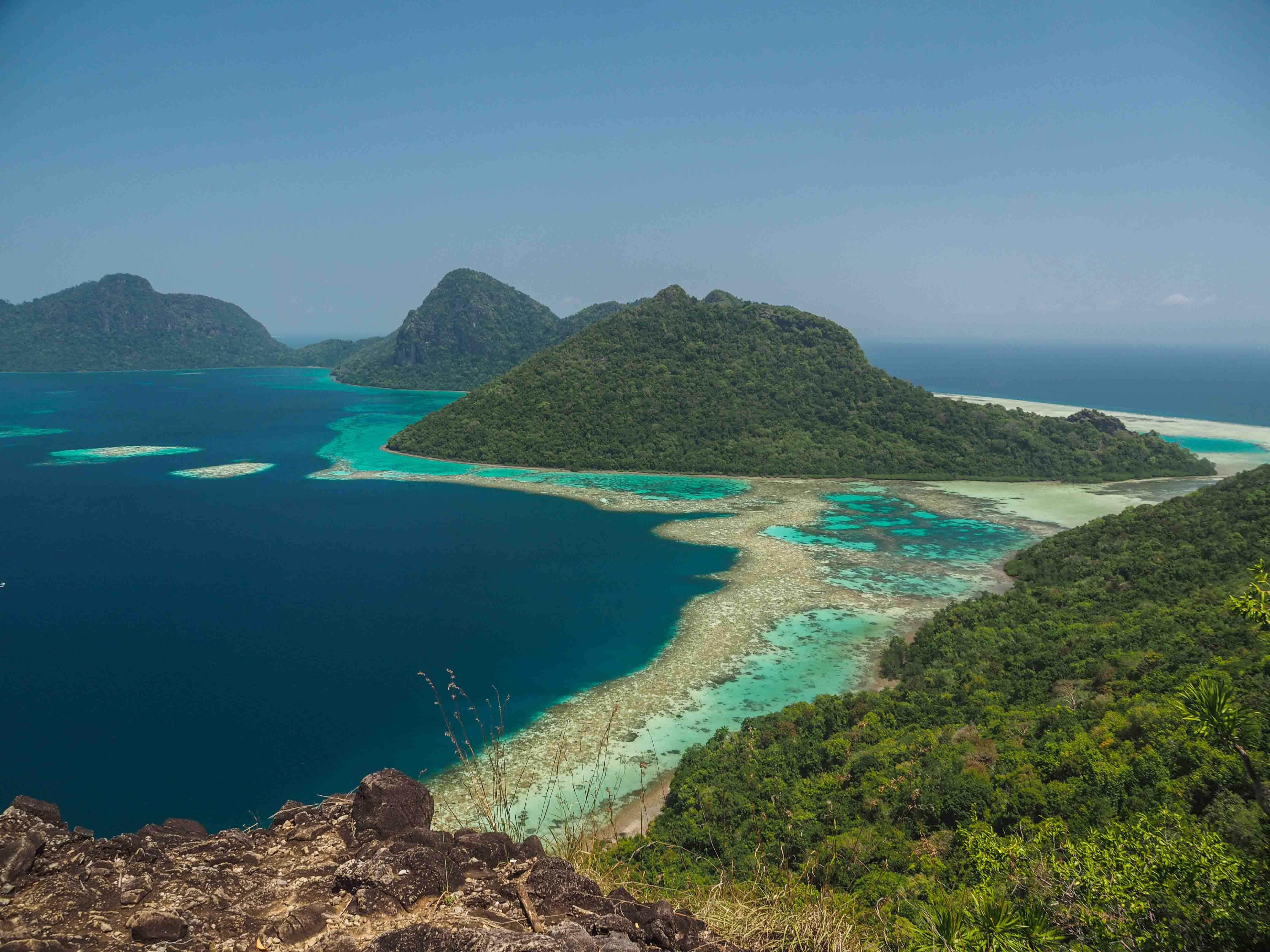 isla de borneo malasia