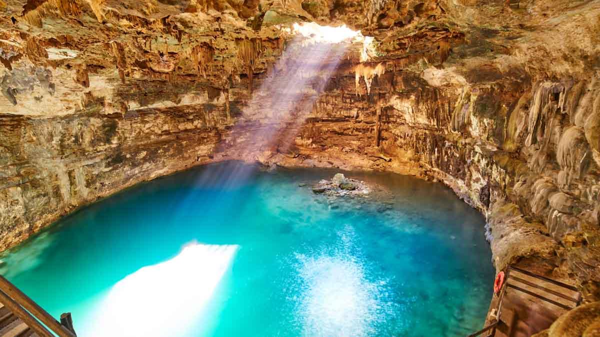 cenote viaje mexico