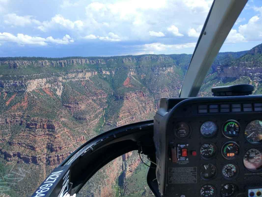 gran cañon en helicoptero