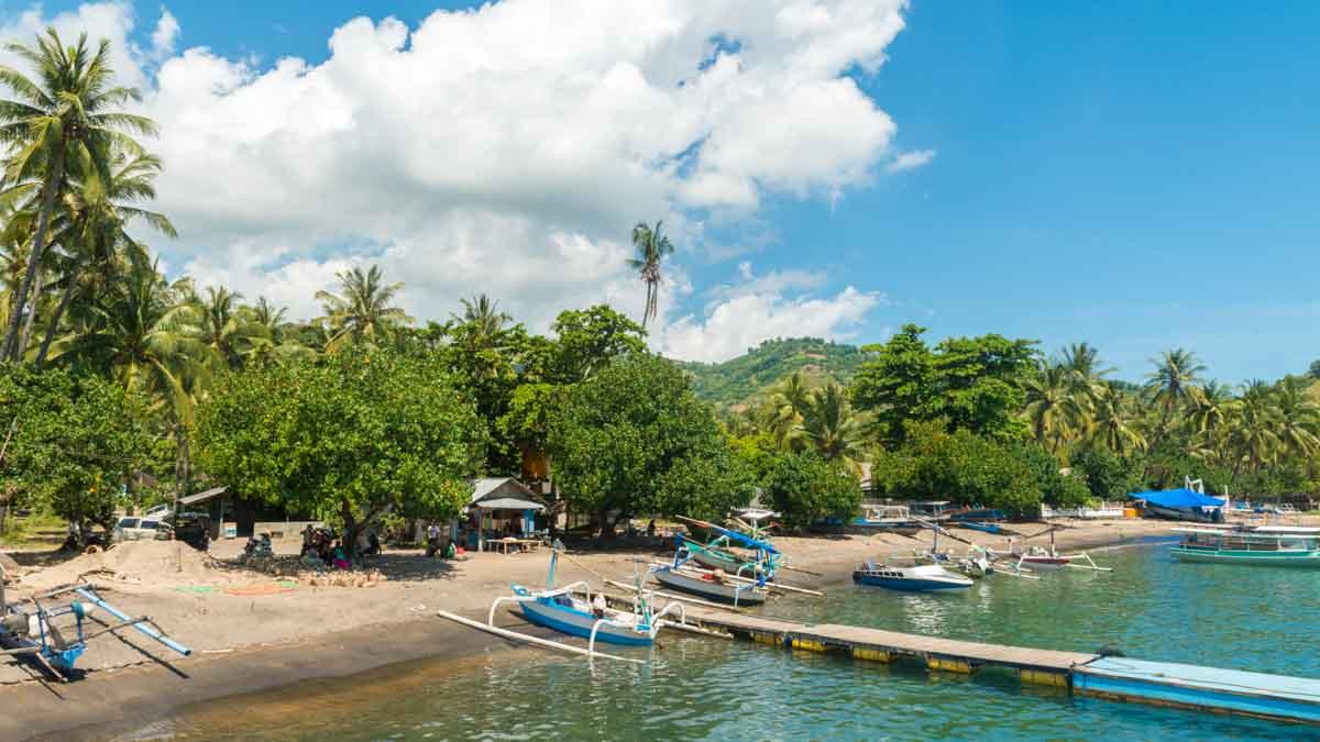 islas gili, bali, indonesia