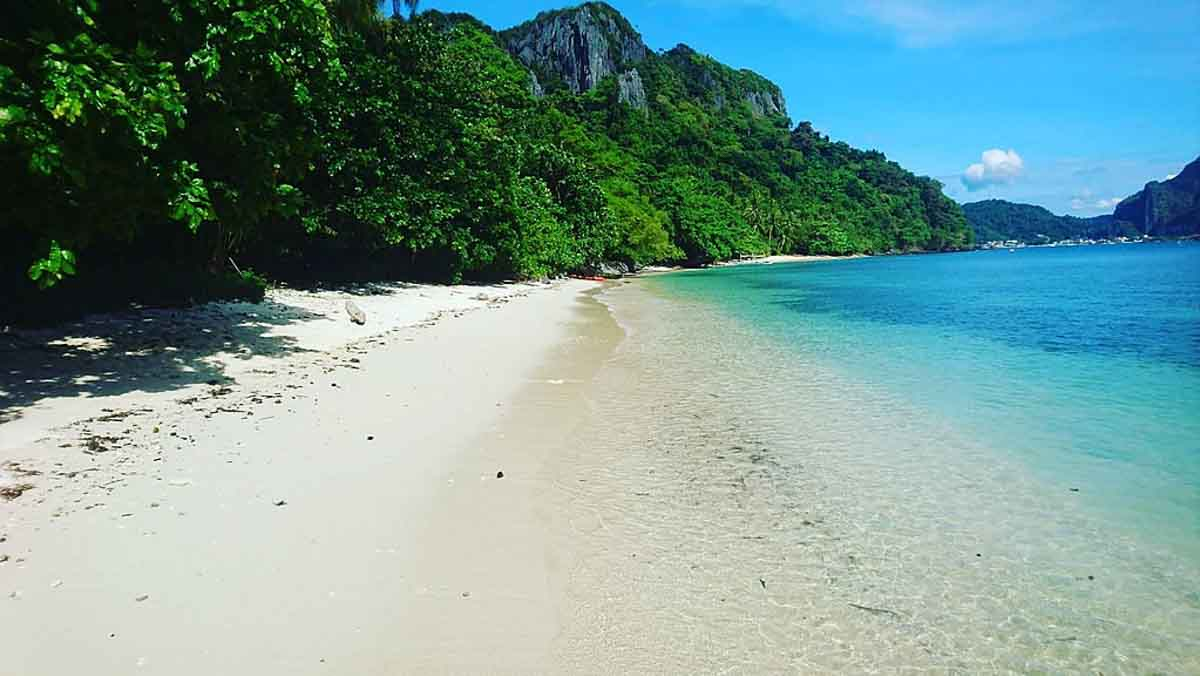 paradise beach el nido tour d