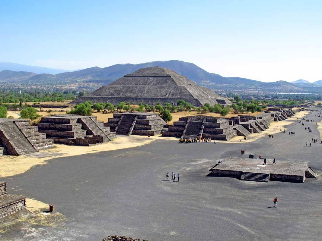 mexico viaje piramides