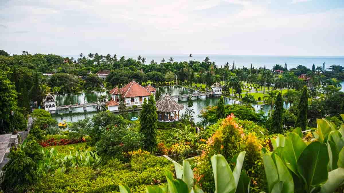 tirta ganga templo, bali, indonesia