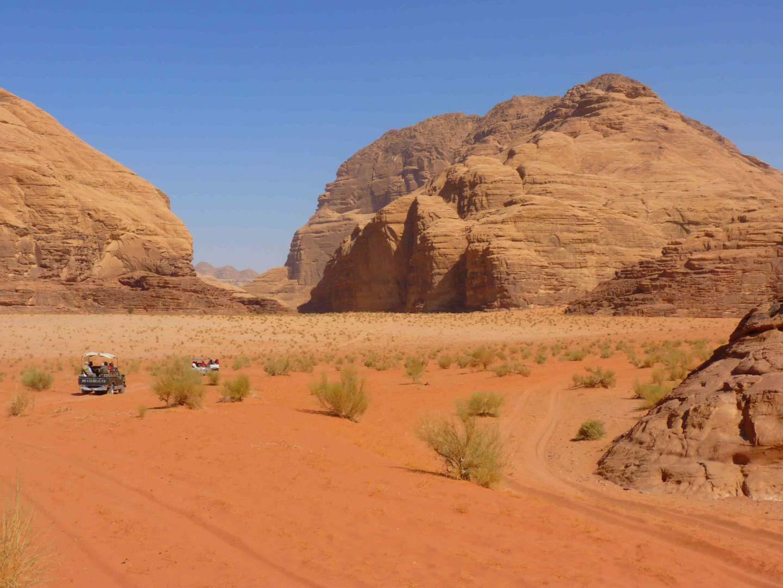 que ver en el desierto del wadi rum jordania
