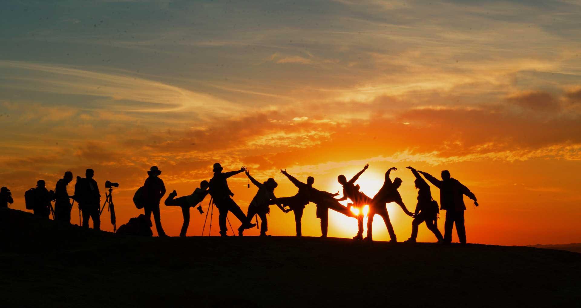 Viajes en grupo para gente joven
