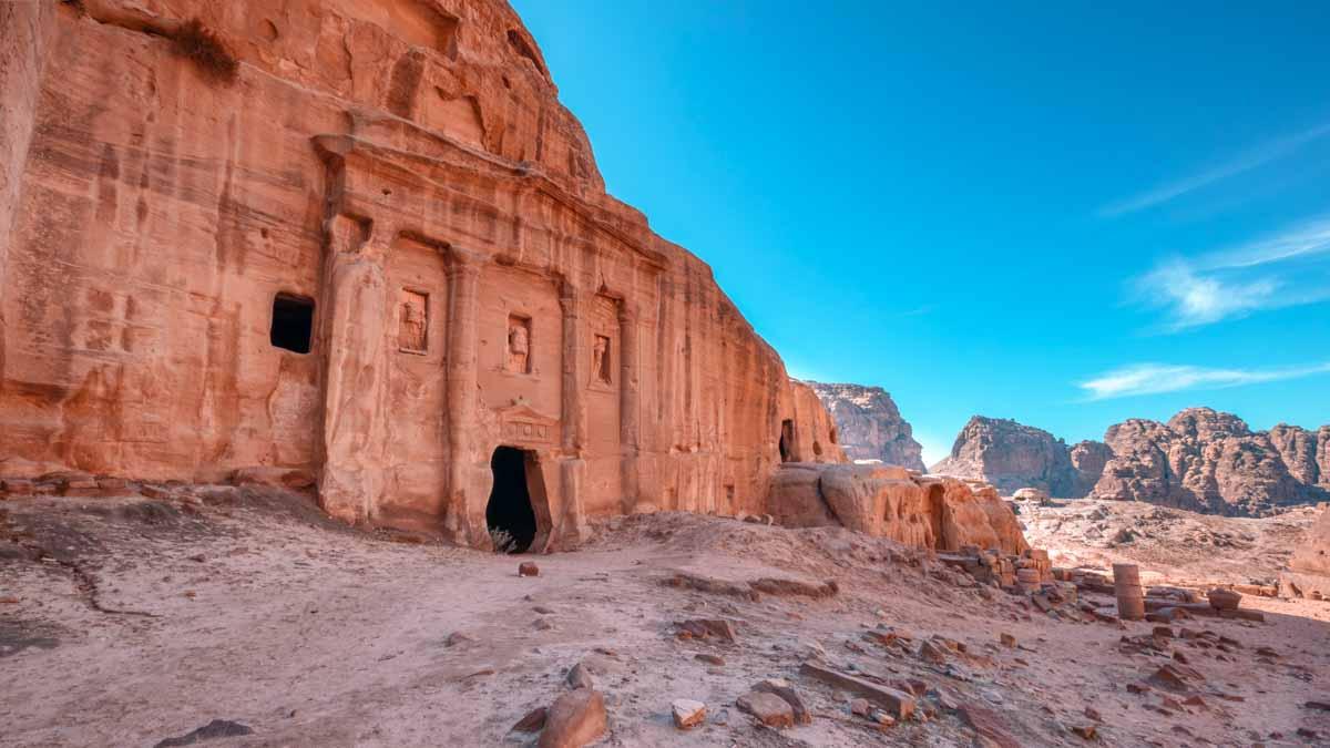 petra, ciudad nabatea