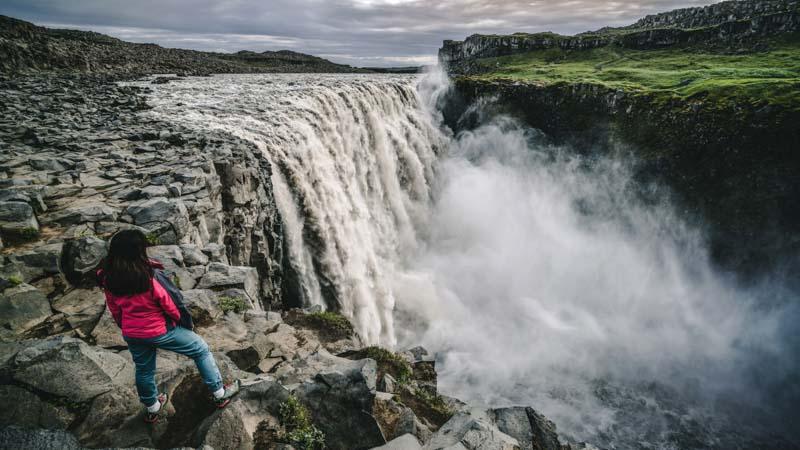 Dettifoss islandia cascada