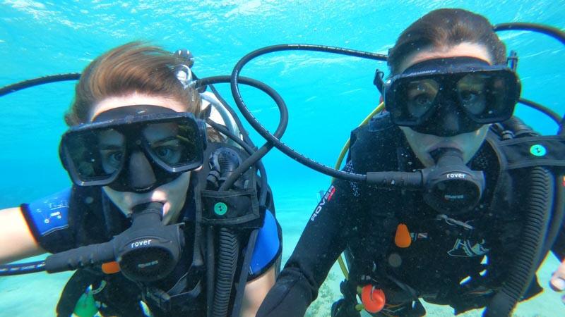 buceo en el mar rojo jordania