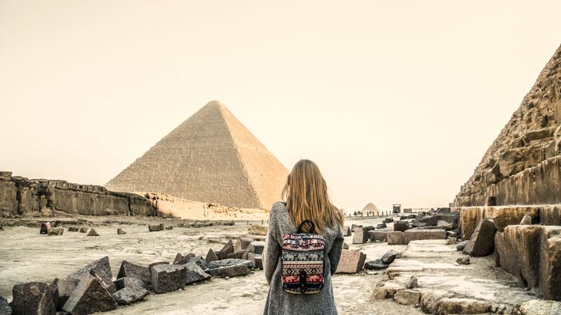 `piramides en viaje a egipto