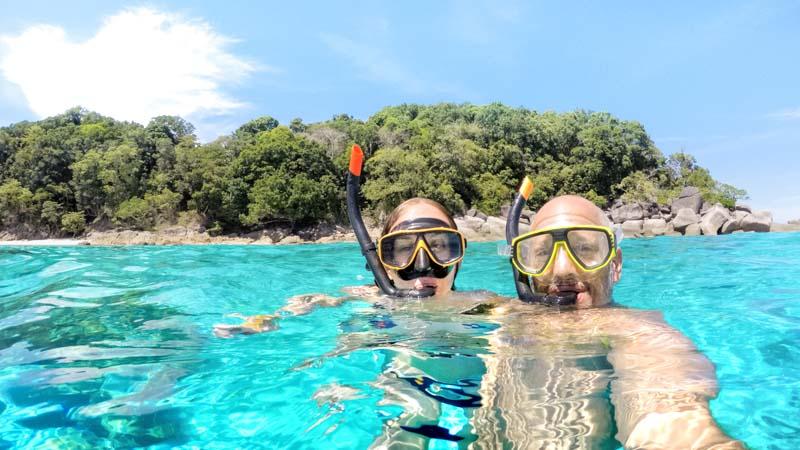 snorquel en tailandia