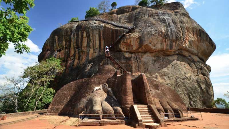 templo en un viaje a sri lanka