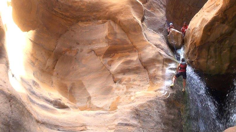 wadi mujib jordania viaje