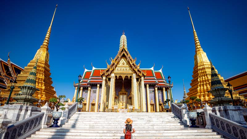 templos de bangkok tailandia
