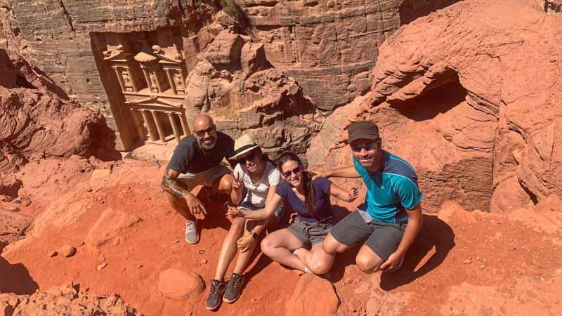 petra jordania viaje en grupo