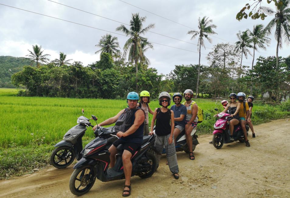 transportes, alojamientos y actividades